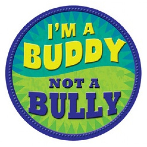 I'm a Buddy - Not a Bully - Green Temporary Tattoo