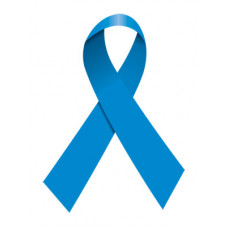 Blue Ribbon Temporary Tattoo
