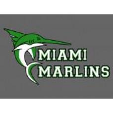 "Miami School ""Marlins"" Temporary Tattoo"