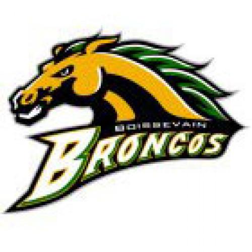 """Boissevain Collegiate """"Boissevain Broncos"""" Temporary Tattoo"""