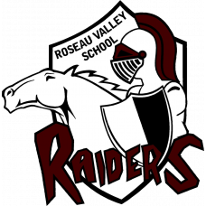 "Roseau Valley School ""Raiders"" Temporary Tattoo"