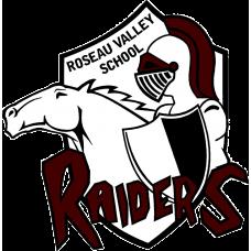 "Roseau Valley School ""Raiders"" Temporary Tattoo"