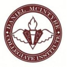 "Daniel McIntyre Collegiate ""Maroons"" Temporary Tattoo"