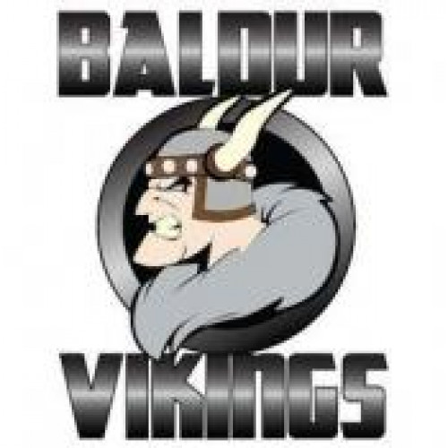 "Baldur High School ""Baldur Vikings"" Temporary Tattoo"