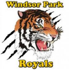 "Windsor Park Collegiate ""Royals"" Temporary Tattoo"