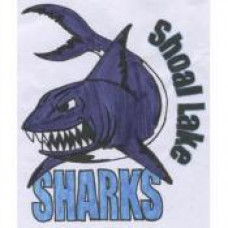 "Shoal Lake School ""Sharks"" Temporary Tattoo"