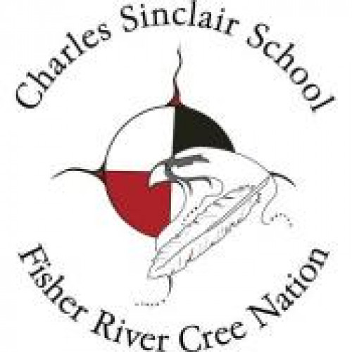 "Charles Sinclair School ""Hawks"" Temporary Tattoo"