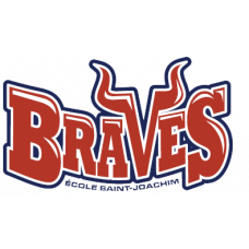 "Ecole St. Joachim ""Braves"" Temporary Tattoo"