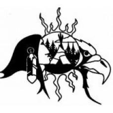 """Chief Sam Cook Mahmuee """"Tataskweyak"""" Temporary Tattoo"""