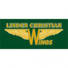"Linden Christian School ""Wings"" Temporary Tattoo"