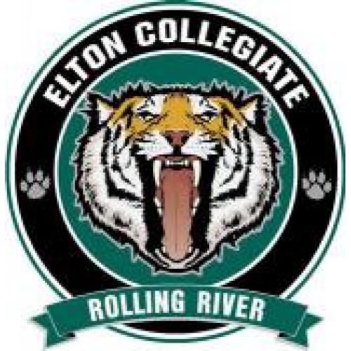 """Elton Collegiate """"Sabers"""" Temporary Tattoo"""