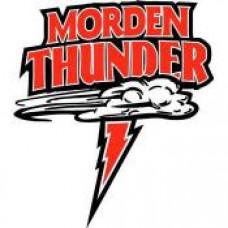 """Morden Collegiate """"Thunder"""" Temporary Tattoo"""