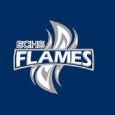 "Steinbach Christian High School ""Flames"" Temporary Tattoo"