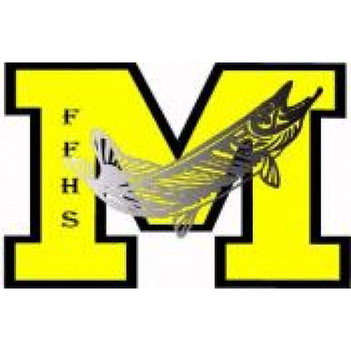 """Fort Frances High School """"Fort Frances Muskies"""" Temporary Tattoo"""
