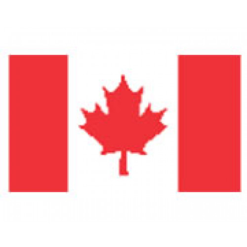 Canada Flag Temporary Tattoo