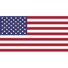 U.S.A. Flag Temporary Tattoo