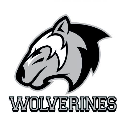Wolverines Mascot Temporary Tattoo