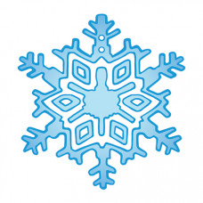 Snowflake (with glitter) Temporary Tattoo