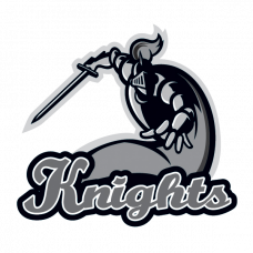 Knights Mascot Temporary Tattoo