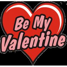 """Be My Valentine"" Temporary Tattoo"