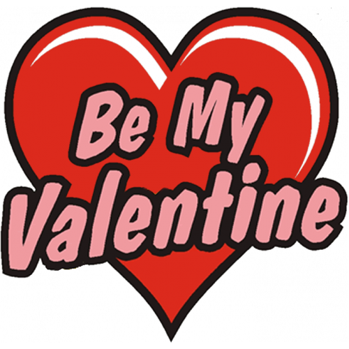 "*ON SALE * ""Be My Valentine"" Temporary Tattoo"